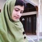 Malala's book launch