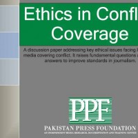 Ethics in Conflict Coverage