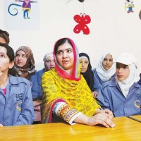 Books not bullets: Malala opens school for Syrian refugee girls