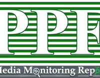 PPF weekly monitoring report of TV channels and newspapers