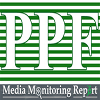 PPF Weekly Media Content Monitoring Report of January 9-15