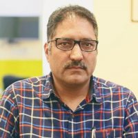 Journalists protest Shujaat Bukhari's killing