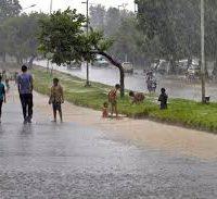 Rain turns weather pleasant
