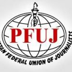 Pakistan Federal Union of Journalists takes exception to info minister statement